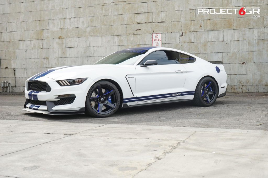 Best White Mustang With Black Rims Project 6gr 5 Star Services
